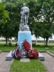 Старый памятник освободителям города